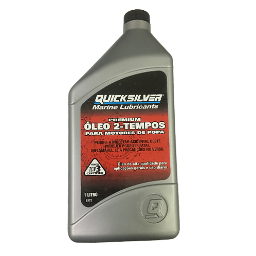 Óleo TC-W3 Quicksilver Premium - 1L