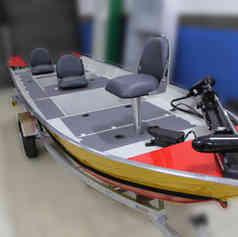 Barco de Pesca modelo Soft da Maresias Náutica