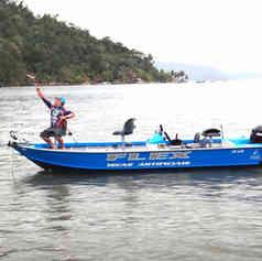 Barco de Pesca modelo Bass Boat GT630 da Maresias Náutica