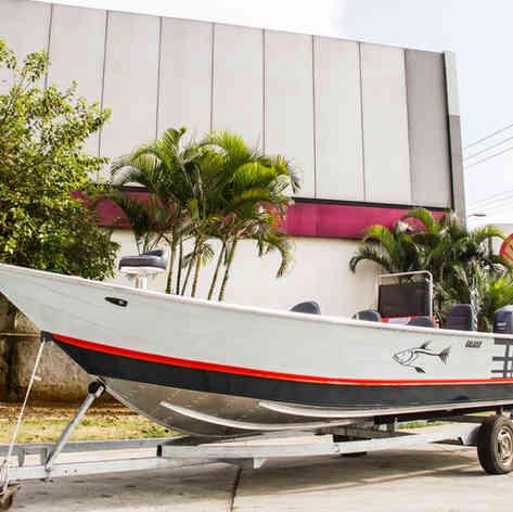 Barco de Pesca modelo Galaxie da Maresias Náutica