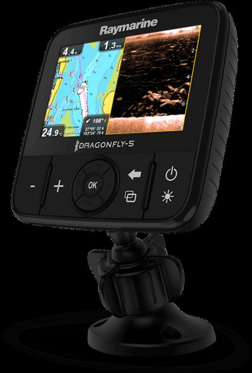 Soar e GPS DragonFly 5Pro Raymarine