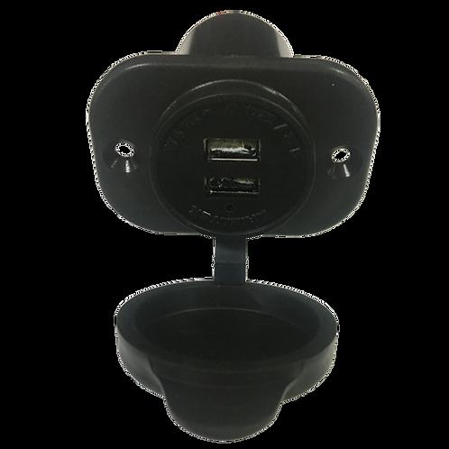 Carregador USB Nautico Redondo
