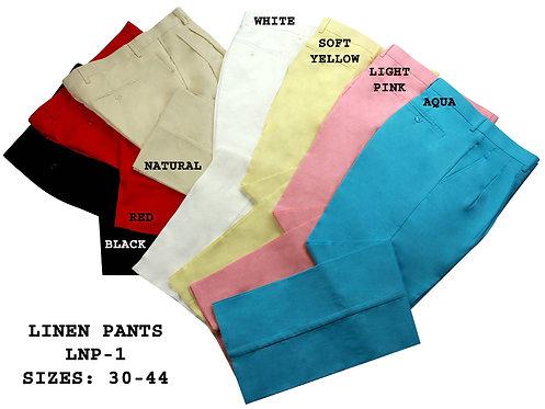 LNP-1 LINEN PANTS
