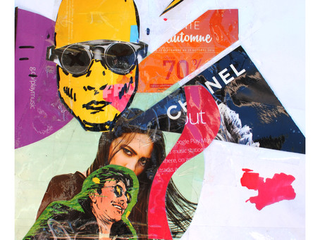 Re:Mix, How Saurin Galloway Goes Beyond The Collage in Mixed Media