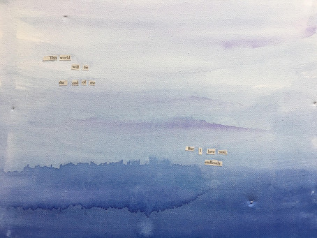 The Canvas of a Writer, a Look into the Watercolour Poetic Works of Linsey Tombler