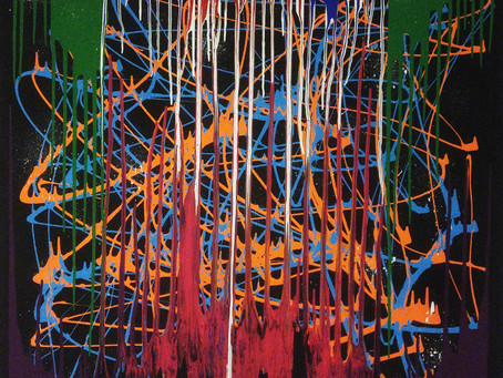 Mapping Sound Through Painting-the Unique Collaboration of Mediums in 'Field Recordings' by