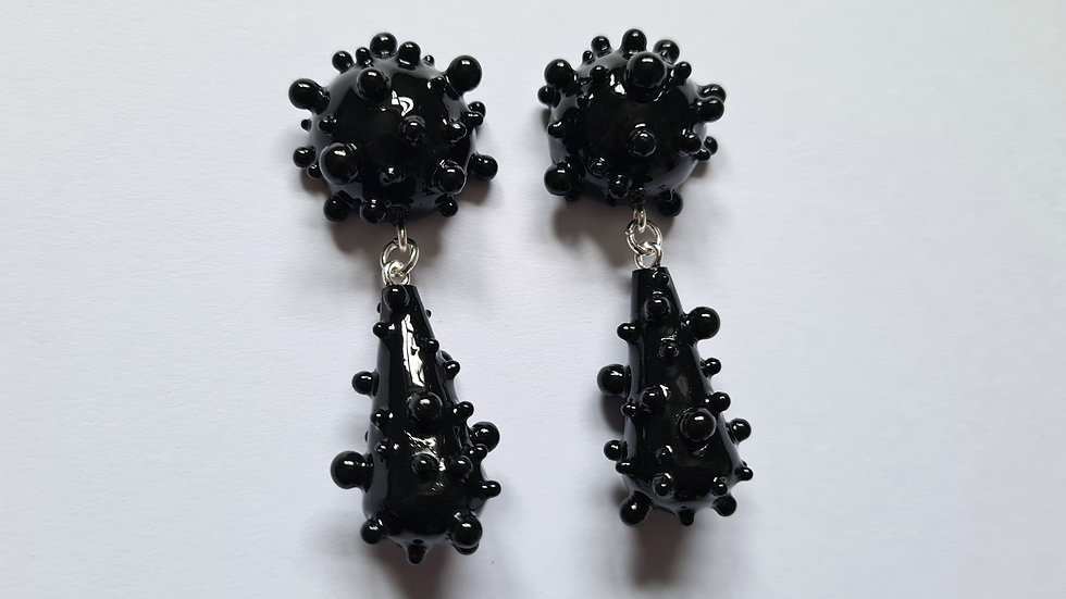 5.5cm black dome and drip