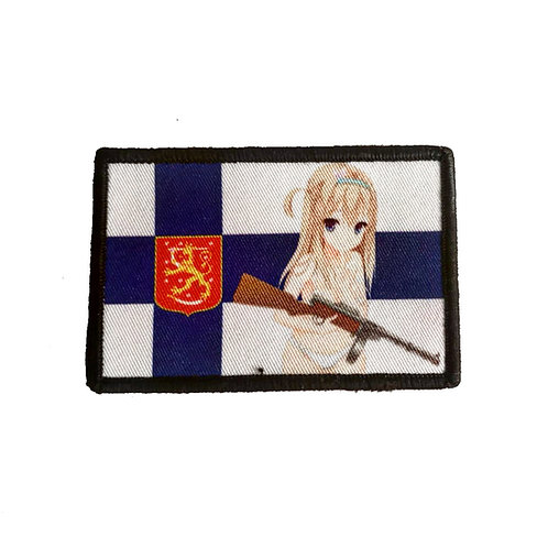 Suomi Finland Flag Patch