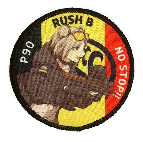 "P90 ""RUSH B NO STOP!"""