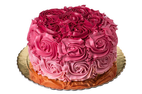 Shades of Roses Cake