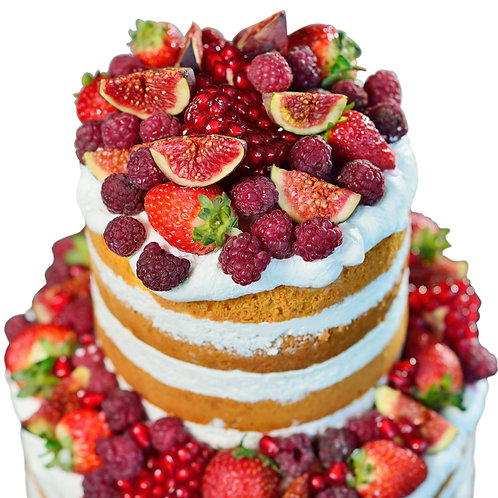 Naked Tiered Cake