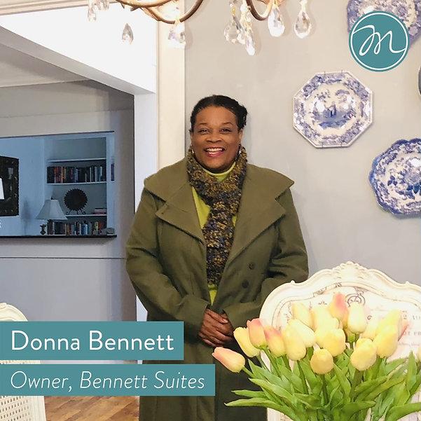 Donna Bennett Main Street Marion Bennett