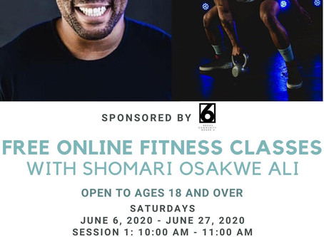 Free Zoom Fitness Classes