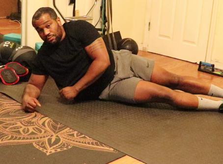 Side Plank Rotation Variation w/ Leg Raise