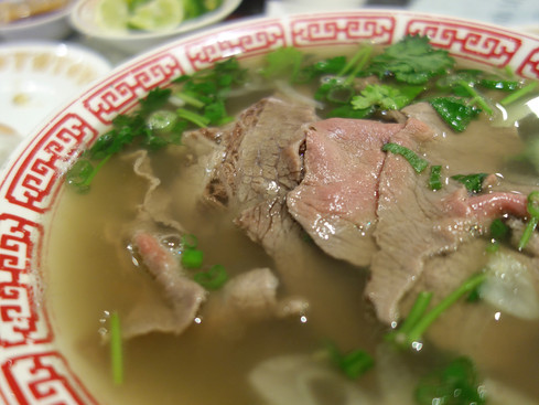 Seattle / Pho Ba: excellent pho in non-pretentious setting