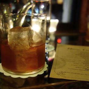 Zetter Townhouse: cocktail at Wilhelmina's