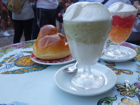 Taormina (ME) / Bam Bar: last granita of the trip