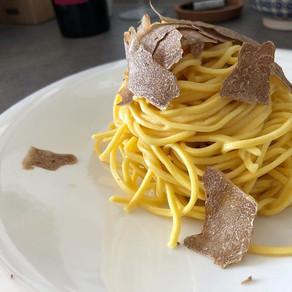 Recipe / White truffle pasta