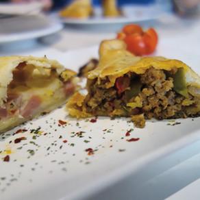 Madrid / Tinto y Tapas: Empanadas Madrid style