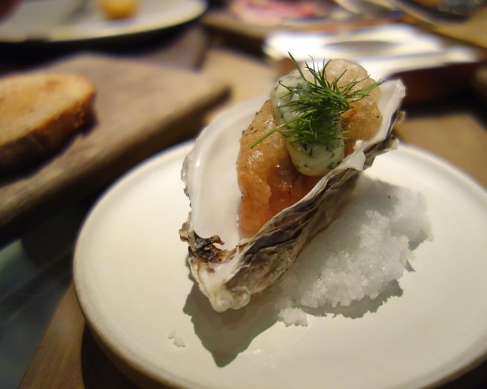 Oyster tempura