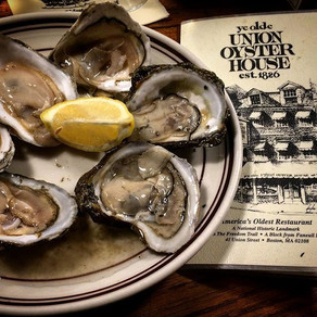 Union oyster house: the oldest restaurant in the U.S.