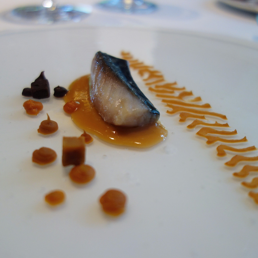 Mackerel with soy sauce-fermented ganxet beans