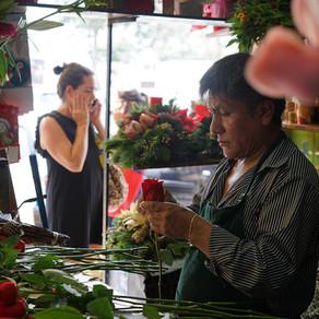 Lima   Monterrico market: ceviche for breakfast