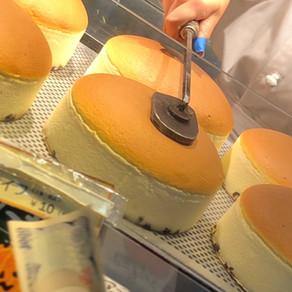 Osaka | Uncle Rikuro: jiggly cheesecake