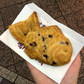 Kyoto | Naruto Taiyaki Hompo: sea bream baked pastries