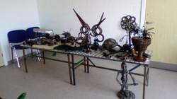 Metel sculptures
