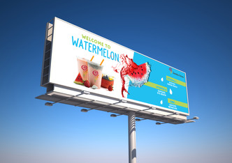 Jamba Juice Watermelon Campaign