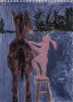 Almost on Top of the Horse, 2018