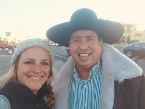 w/ Michael Johnson from Hopi Reservation