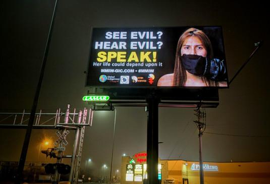 Billboard in Rapid City, SD