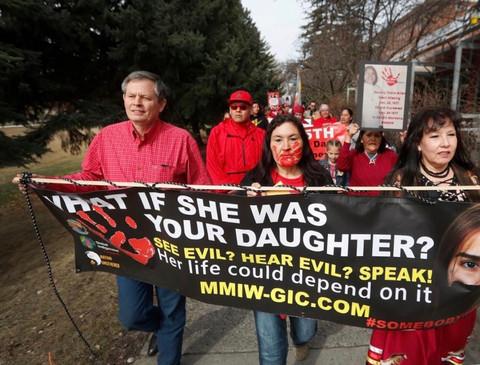 MMIW March in Billings, MT
