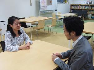 インターン生へのインタビュー