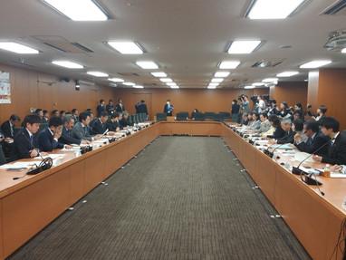 関係省庁の大臣が出席する食品ロス削減推進会議に参加しました
