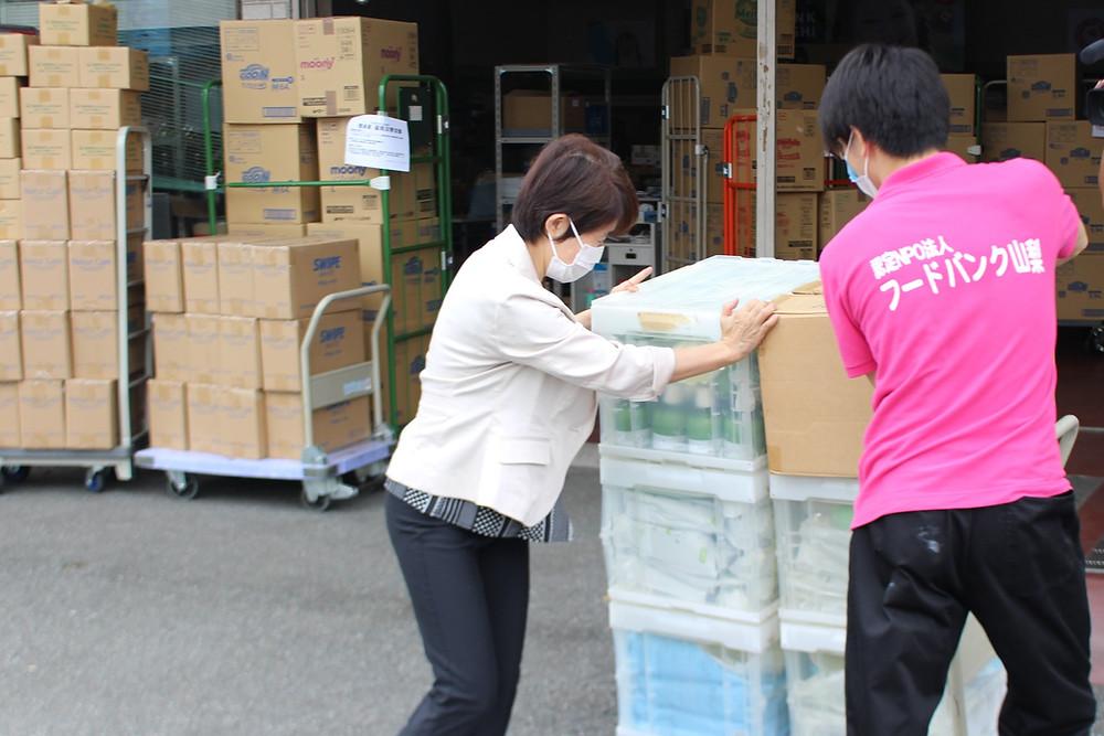 九州豪雨災害 フードバンク