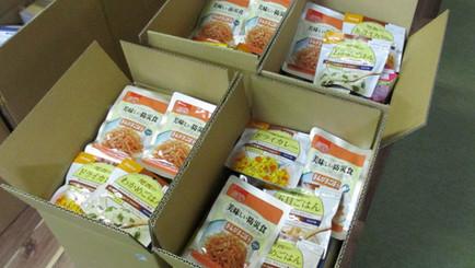 内閣府様より災害備蓄食品をご寄贈いただきました