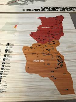 Mapa Minerals de Sang
