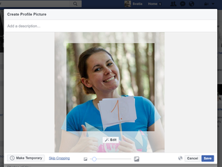 How to change you FB profile picture without cropping