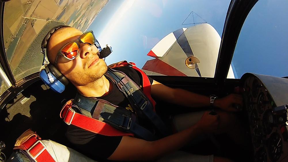 piloti acrobatici italiani, Luigi Monti