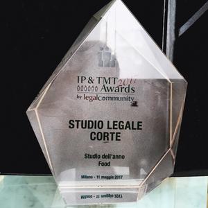 Studio Legale Corte, miglior studio legale food, legalcommunity awards, diritto alimentare, food law, best food law firm