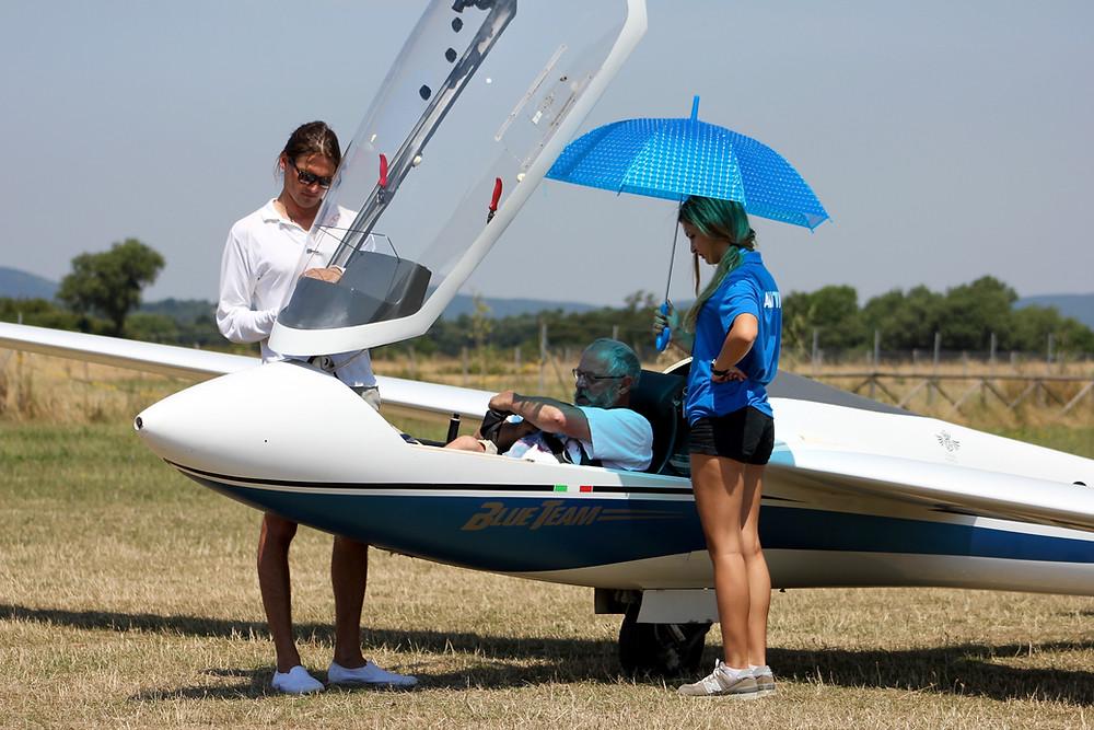 volo acrobatico, aliante, campionato italiano, aeroclub castelviscardo, alfina, filippini, campione italiano di acrobazia, dietmar poll, eric lentz-gauthier