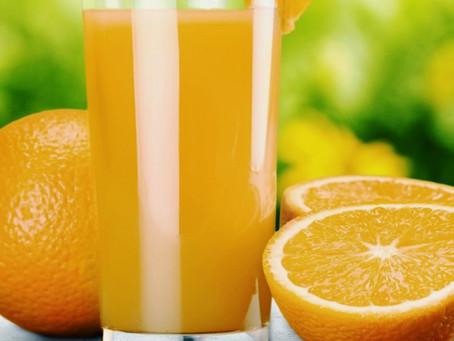Etichettatura: 20% di succo di arancia nelle bevande.  Aggiornamenti di diritto alimentare