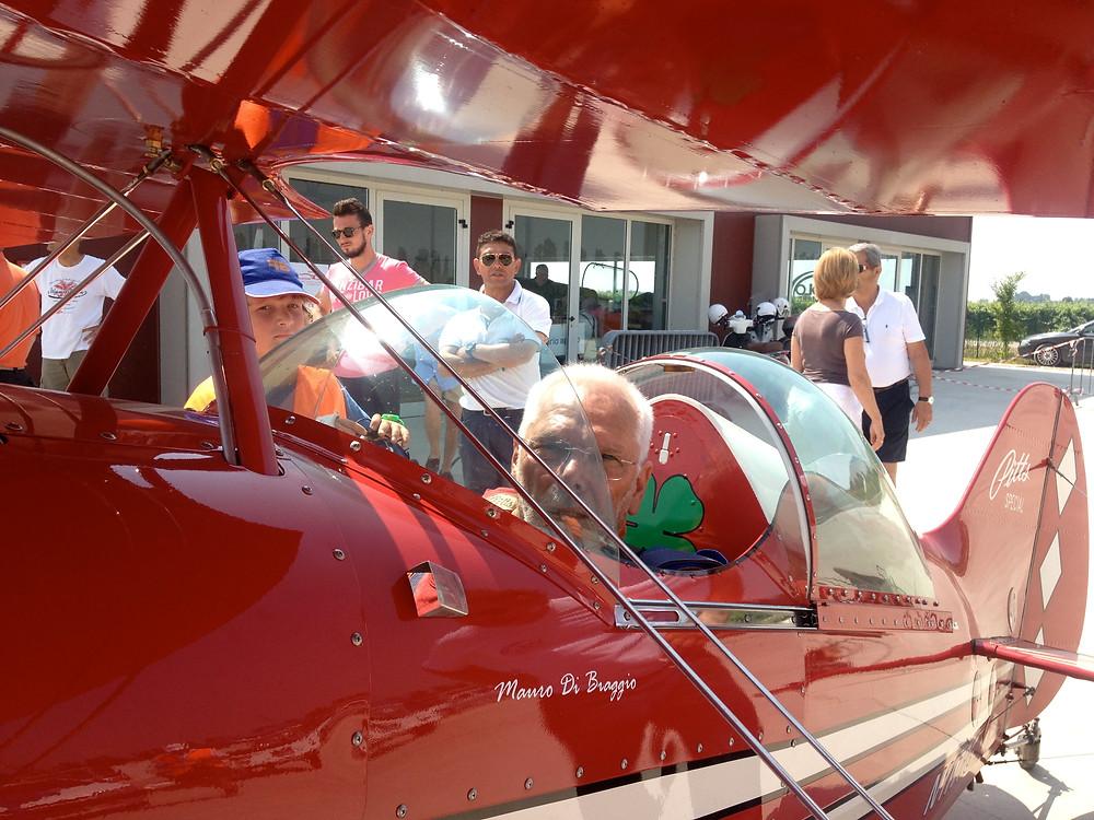 istruttori acrobatici, Sergio Dallan