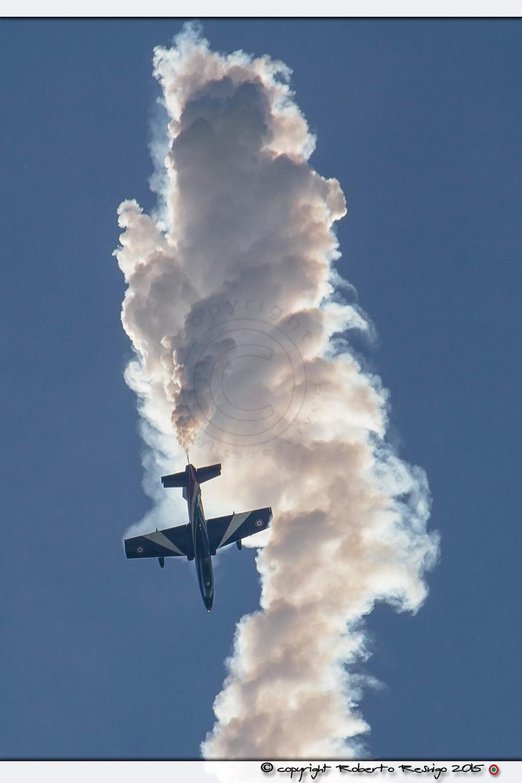 solista,volo acrobatico, acrobazia aerea, manifestazione, rivolto, 55 anniversario pan