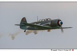YAK 11, pilota Stefano Landi