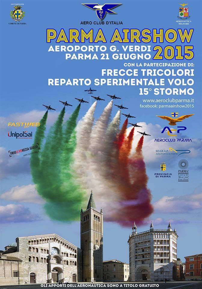 volo acrobatico: airshow parma 2015