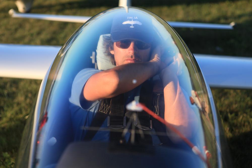 Sasha Marvin volo acrobatico aliante acrobazia aerea squadra nazionale